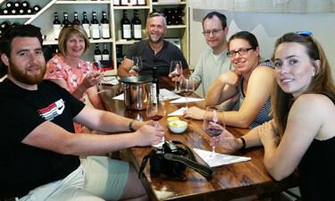 Wine tasting on a tour with Sergio Ceccherini