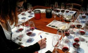 A Florence wine class on blending being held at a famous winery in Chianti