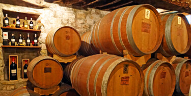 Tuscany Wine Barrels