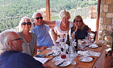 High end Tuscany wine tours with Myriam Buzzi