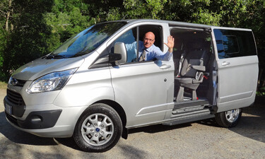 Ford vans for the best Tuscany wine tours