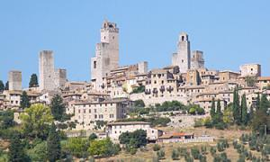 A San Gimignano wine tour