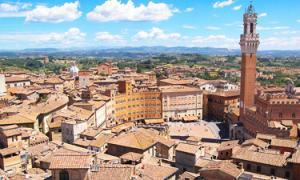 Wine tasting in Siena