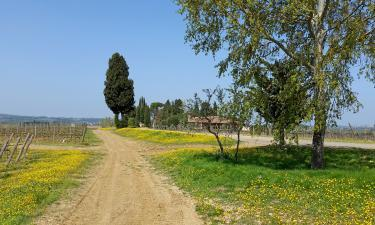 A Tuscan scene in April