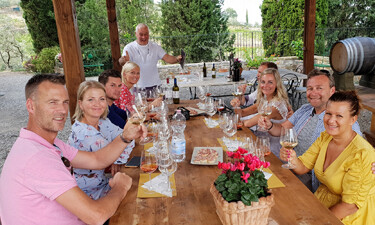 Joinable Tuscany wine tour from Loro Ciuffenna