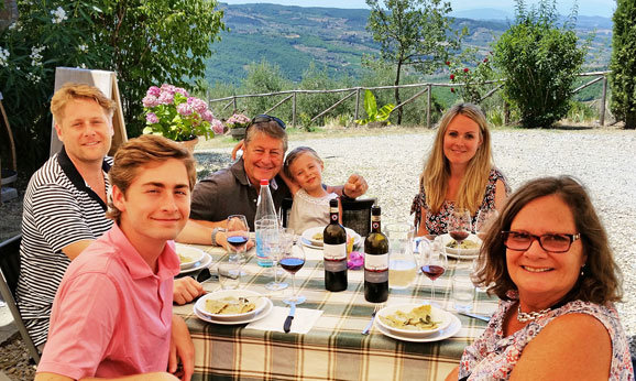A private wine tour from Florence with home cooked lunch