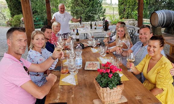 Tuscany Wine Tour in Loro Ciuffenna