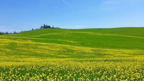 Tuscany in Spring The Valdorcia