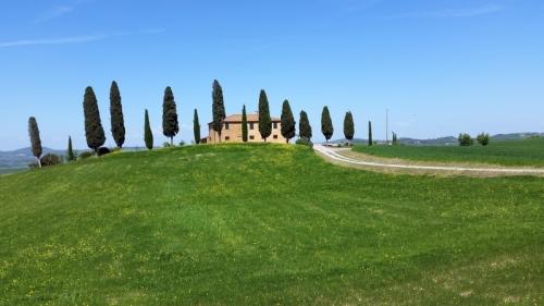 Tuscany the famous farmhouse